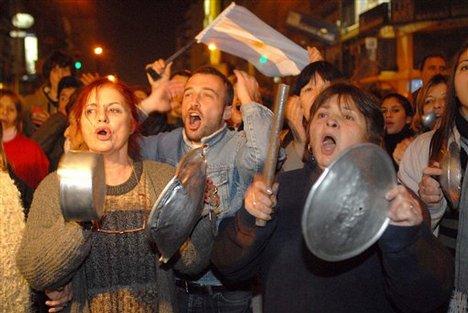 Argentinazo 2001 - ντοκιμαντέρ για την εξέγερση του Αργεντίνικου λαού