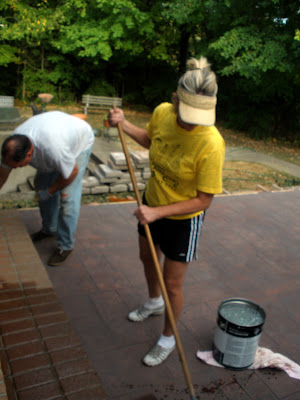 """stamped concrete"