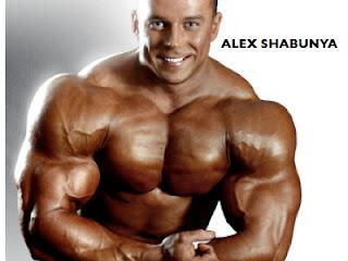 Alex Shabunya beliorrusian bodybuilder