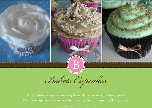 Babete Cupcakes - Florianópolis - Curitiba