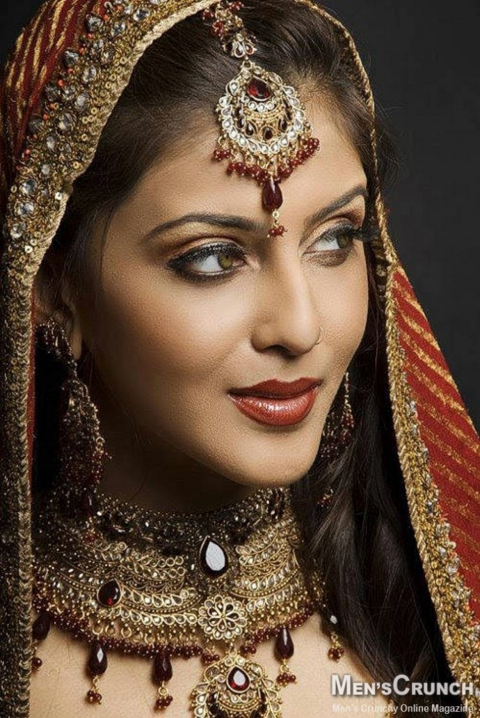 bridal makeup in india. Bridal Makeup Jewellery and