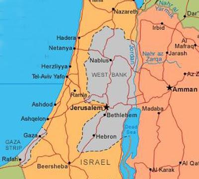 Gearid in IsraelPalestine Hebron City and Region Maps