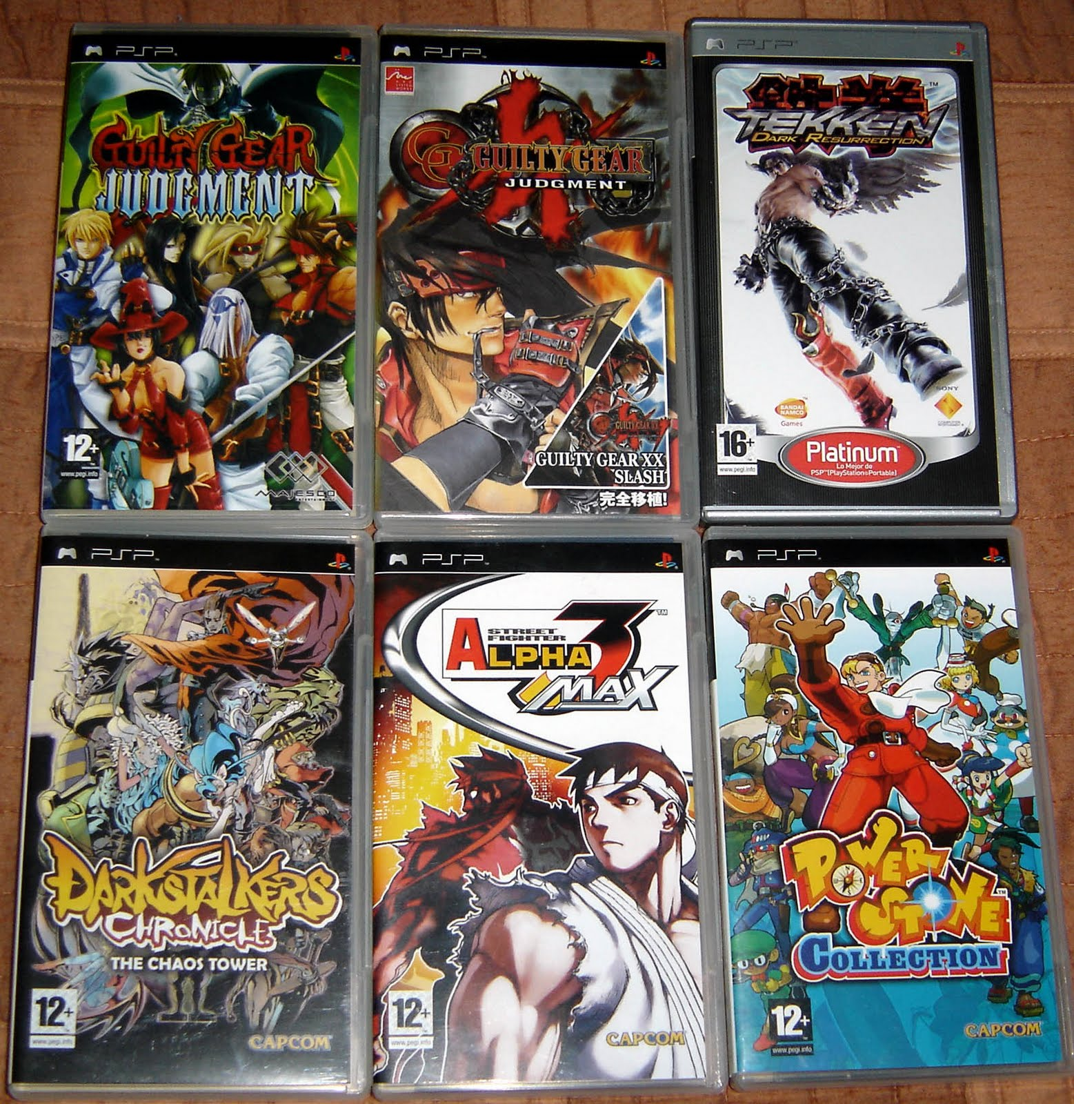 Soth's Blog: My videogame collection III: PlayStation Portable