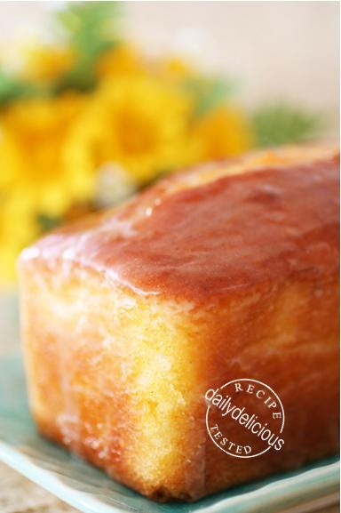 Basic Lemon Pound Cake Recipe