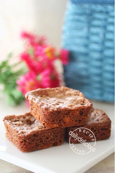 Chocolate Brownies No Eggs  Inch Tin