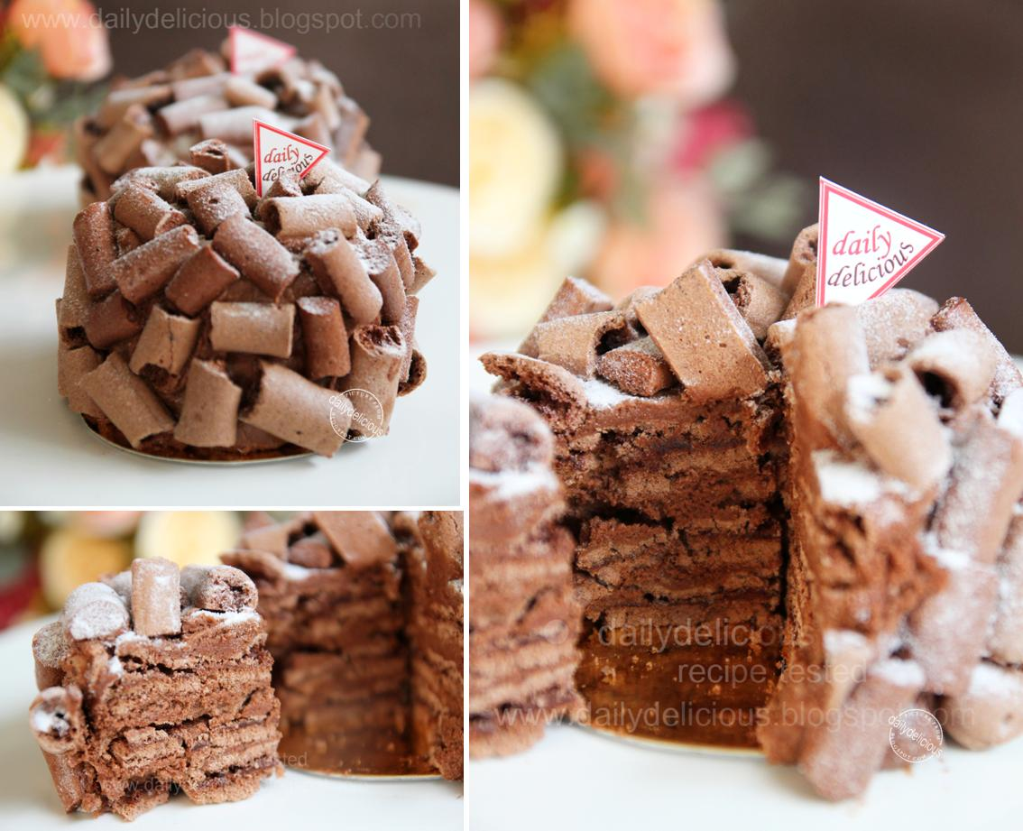 Decorate Chocolate Cake Without Icing