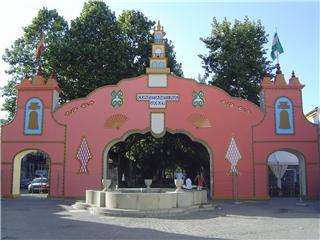 Arco de la Feria 2007 esperando sus últimos retoques