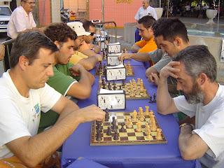 Participantes del Torneo de Partidas Rápidas