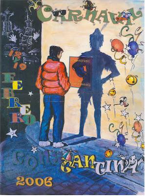 Cartel anunciador Carnaval 2006