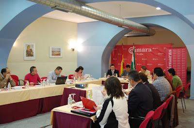 Momento del desarrollo del Panel Empresarial