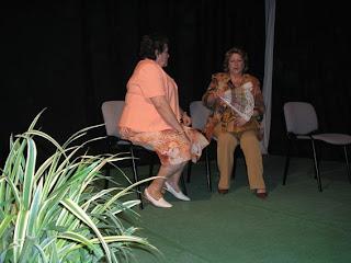 Momento de una actuación del anterior Taller de Teatro