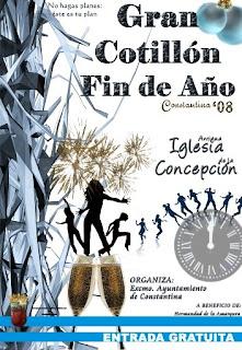 Cartel Cotillón Fin de Año Constantina 2008