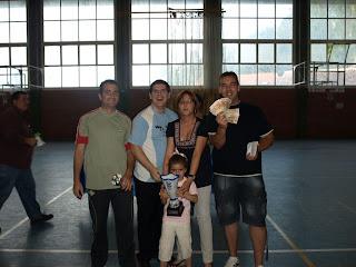 Mapache, primeros en deportividad Liga 08/09 Constantina