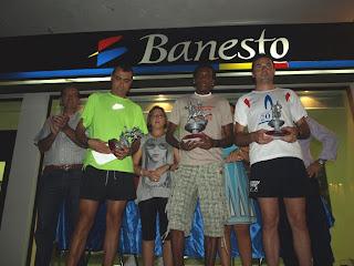 Vencedores absolutos masculinos Carrera Valle Osa Constantna 2010