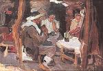 Adorna la Matera un Oleo del pintor Argentino Fernando Fader