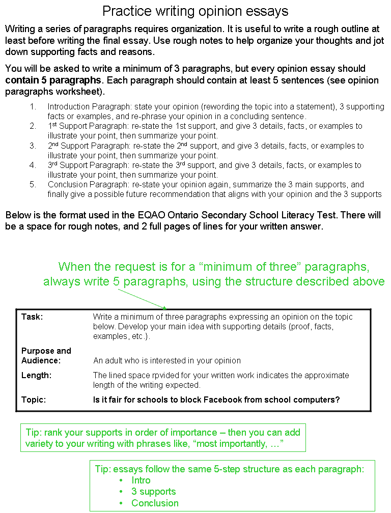 linkers for opinion essays examples