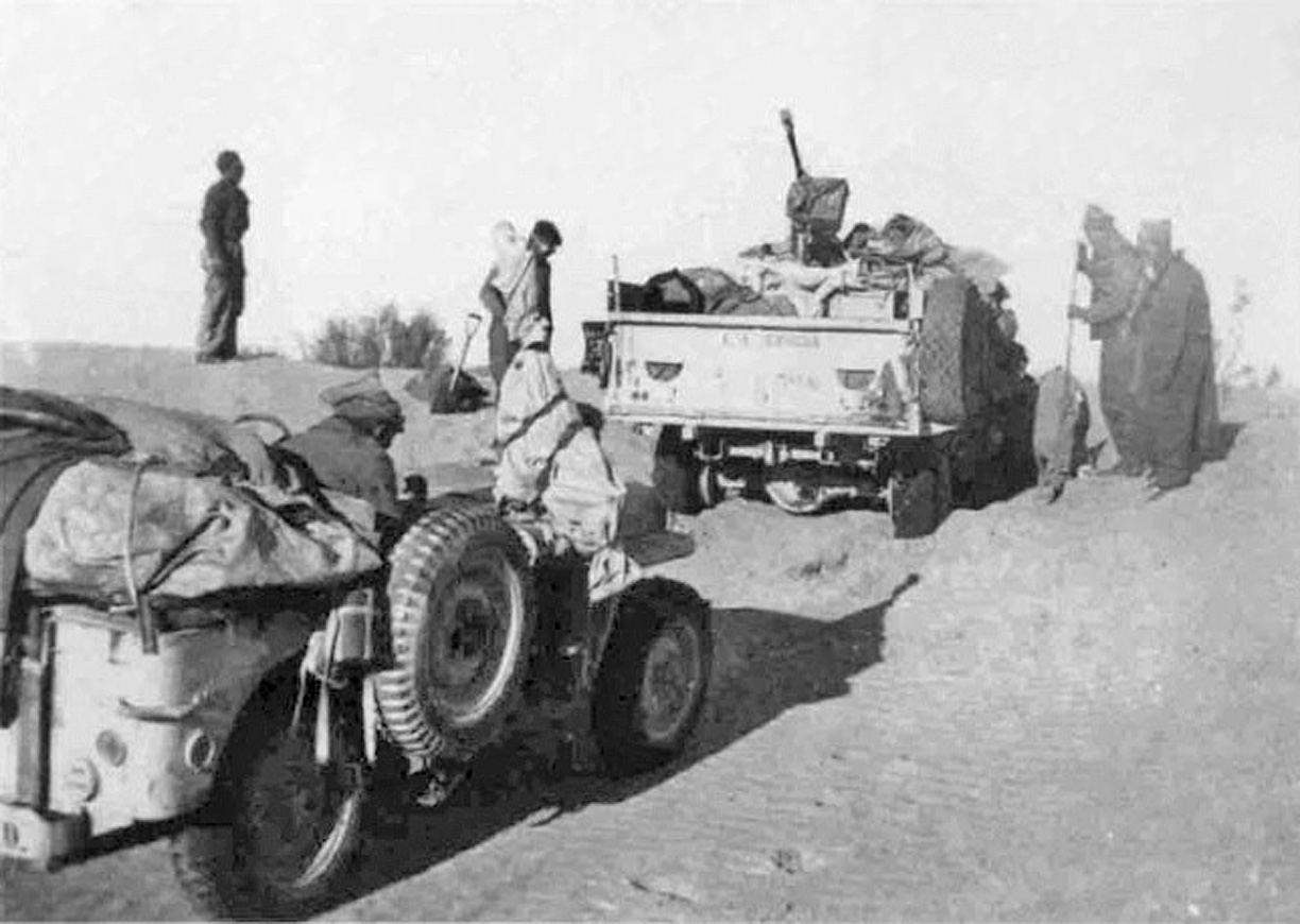 Sand, Wind and Stars - LRDG, 70 years on: Following in ...