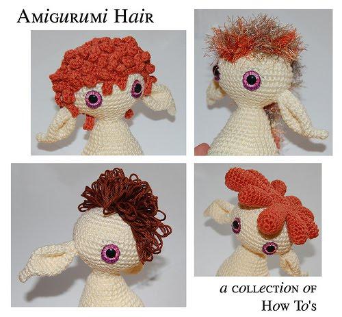 Blog de Goanna: Tutorial para hacer pelo en Amigurumi