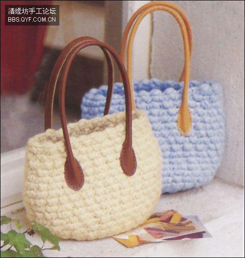 Bolsas De Crochet Paso A