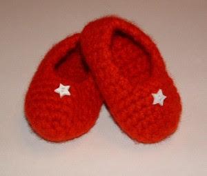 Patrón para zapatillas de crochet para bebe