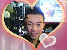 it's me.....with my lovely cat
