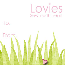 Lovie Hang Tags for Spring