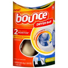 BOUNCE Free Full Size Package Dryer Bar Giveaway