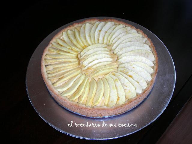 tarta de manzana de eguski