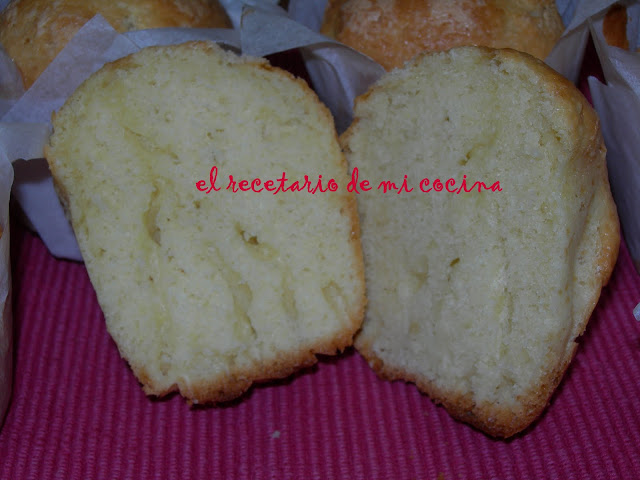 magdalenas de almendra