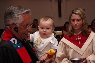 Mason christening