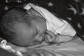 Mason sleeping