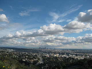 Downtown LA from Mulholland Drive