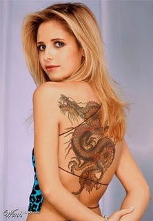 Sexy Celebrity Tattoo Designs