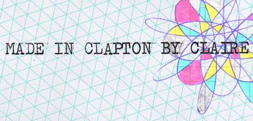 MADE IN CLAPTON BY CLAIRE