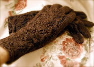 Plum Gloves
