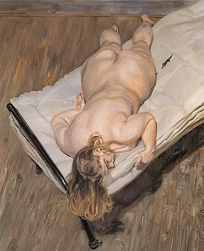 Idea and Lucian freud naked portrait similar