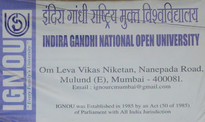 IGNOU Mumbai Address
