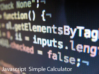 Simple JavaScript Calculator Code – JavaScript Arithmetic