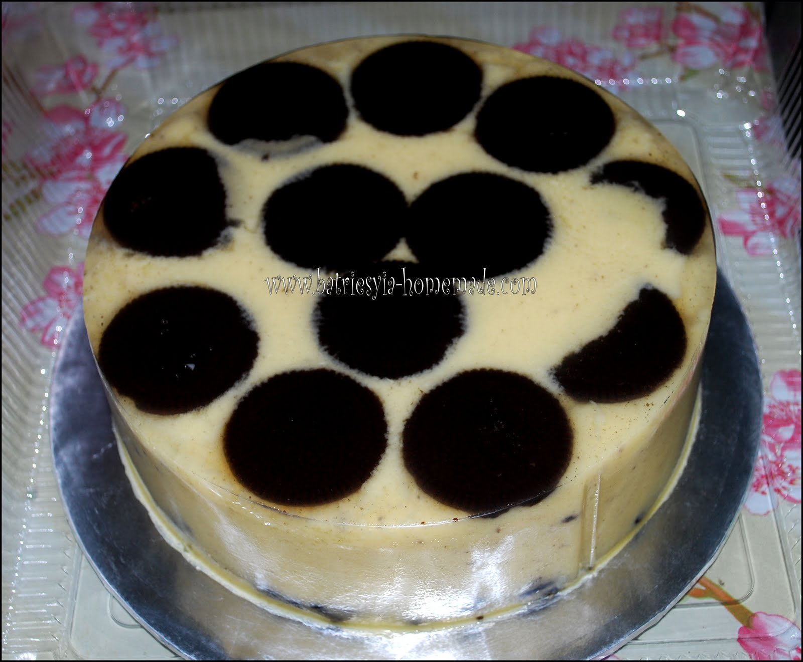 Pin Resepi Puding Roti Marble Pelangi Cake on Pinterest