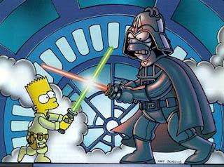 Simpons - Star Wars