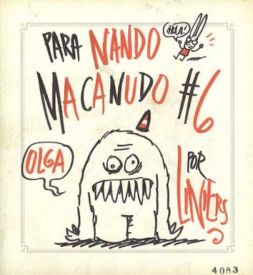 Tapa Macanudo #6 por Liniers