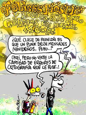 Furnier - Felices Fiestas Punk...