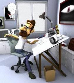 Paco Ermengol en su estudio
