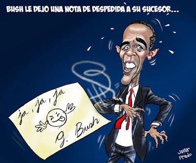 Baral Obama por Javier Prado