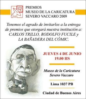 Premios del Museo de la Caricatura Severo Vaccaro 2009