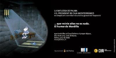 Expo de Mordillo en Palma