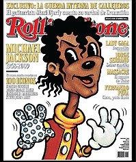 Michael Jackson en la tapa de Rolling Stone Argentina