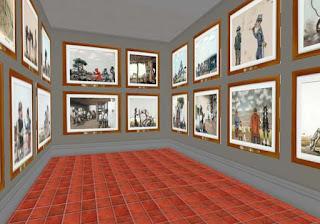Museo Florencio Molina Campos en Second Life