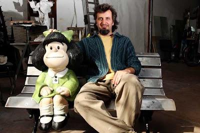 Mafalda tendrá su escultura