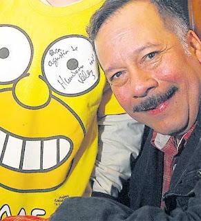 Humberto Vélez, la voz de Homero Simpson